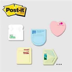 Post-it® Custom Printed Die-Cut Notes Small 25 Sheets