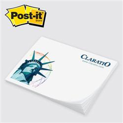 "Post-it® Custom Printed Notes Value Priced 3"" x 4"" 50 Sheet"