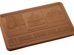 Promotional Executive Gift 2 lb Chocolate Bar