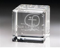 Quadrado Crystal Block Awards
