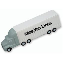Semi-Truck Custom Stress Relievers, Tractor Trailer Promotional Stress Balls