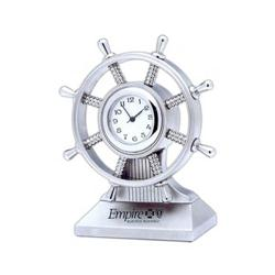 Custom Ship Wheel Clocks, Promotional Shipping Clocks