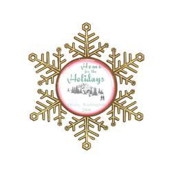 Snowflake Holiday Ornament Free Rush