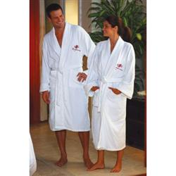 Terry Velour Custom Robes with Collar