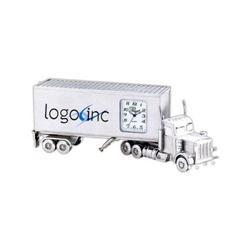 Custom Truck Clock, Promotional Tractor Trailer Trucking Clocks