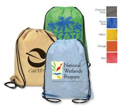Aero Non Woven Drawstring Backpack - Recyclable and Custom