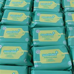 Anti Bacterial Wipes in Bulk - 80 count