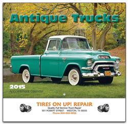 Antique Trucks Promotional Wall Calendar