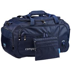 AreoLOFT Duffel Bag with Expandable Side Pockets and Zip Organizer
