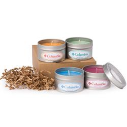 Aromatherapy Candle Collection Gift Set - Soy Candles Oil Infused