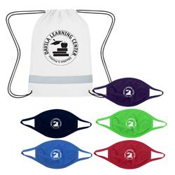 Back to School 5 Day Mask Kit with Custom Logo and Backpack