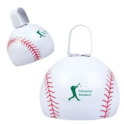 Baseball Shaped Cowbell