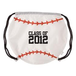Baseball Drawstring Backpacks & Cinch Bags