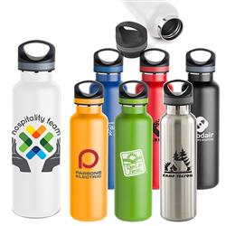 Basecamp Tundra Vacuum Sealed Bottle in Stainless Steel - 20 oz