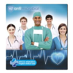 anti-microbial mouse pad full color