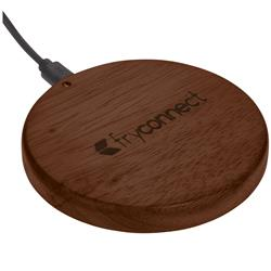 Bora Wooden Wireless Charging Pad - Qi Type Charger