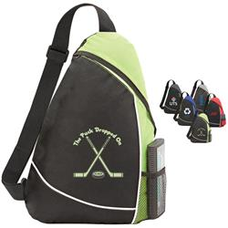 Bristol Sling Backpack and Bag with your custom promotional logo