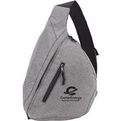 Graphite Brooklyn Deluxe Sling Backpack customized