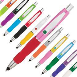 Colorful custom build a pen.