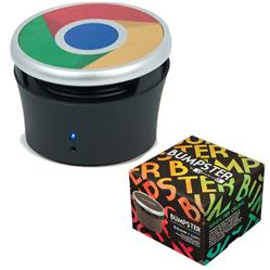 Bumpster Bluetooth & NFC Speaker with Full Color Imprint