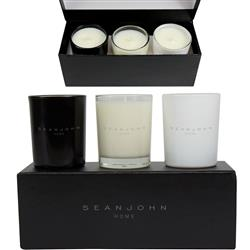 Candle Trio Gift Set - Custom Printed Candles in a nice gift box