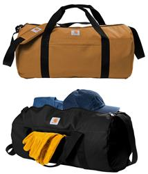 Carhartt Canvas Packable Duffel with Pouch. CT89105112 Black