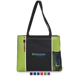Classic Convention Tote Bags in Bulk with Custom Logo and Piping