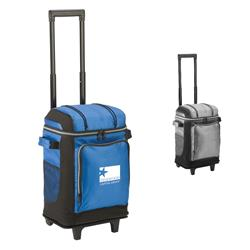 Coleman 42-Can Soft-Sided Wheeled Cooler in bulk with your promotional logo imprinted