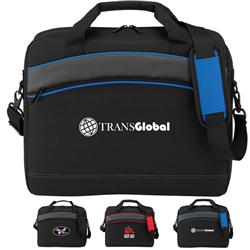 Slimline Computer Brief Bags, Promotional Computer Bags, Breifcase with Logo, TSA Friendly Bags