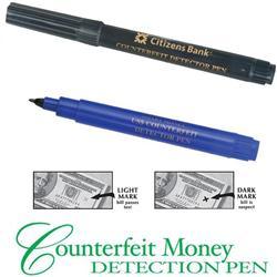 Counterfeit Money Detection Pen with Custom Logo