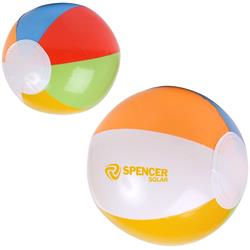 Custom Beach Balls Multi Colored 16 inch