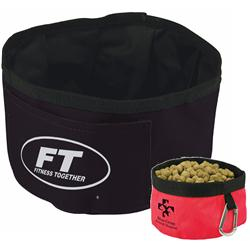 Custom Folding Dog Bowls, Promotional Dog Food Bowls
