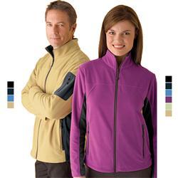 Custom Micro Fleece Jackets Embroidered