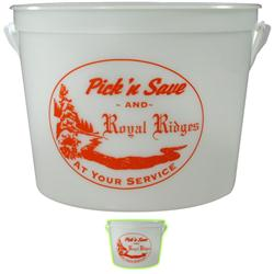 Custom Halloween Buckets Glow in the Dark, Promotional Pails and Buckets