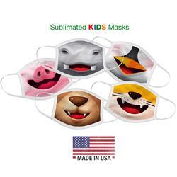 Cloth Face Mask Made in USA Custom