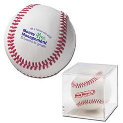 Genuine Leather Baseballs with Custom Imprint, Promotional Leather Baseballs