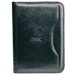 Deluxe Executive Vintage Leather Padfolio Personalized
