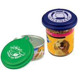 Custom Pet Food Lids, Promotional Can Lids