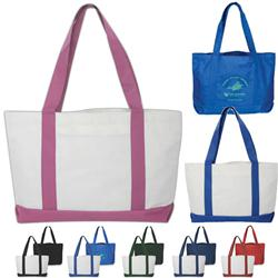 The Landon Custom Pocket Tote Bag