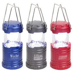 Retro Pop Up Lantern Customized with your Logo by Adco Marketing