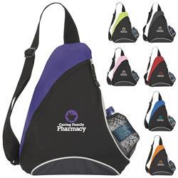 Cutie Patootie Custom Sling Backpacks