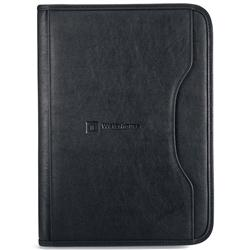 Deluxe Executive Padfolio, Custom Zippered Padfolio, Promotional Padfolios