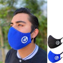 Patriot Face Mask Made in USA by Patriot Coolers with your cusotm logo