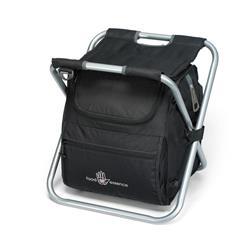 Deluxe Spectator Cooler Chair Black