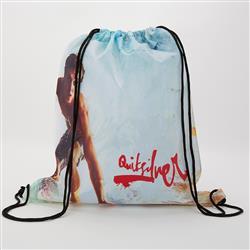 Dye Sublimated Drawstring Backpack or Cinch Bag