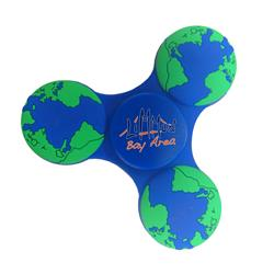 earth promospinner customized with your logo by Adco Marketing