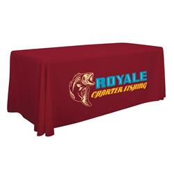 Red 6' economy tablecloth