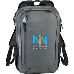 """elleven Lunar Lightweight 15"""" Computer Backpack Gray"""