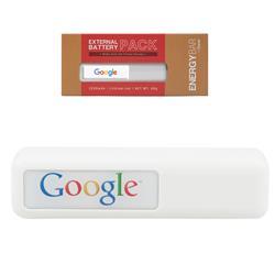 Energy Bar External Battery Pack Power Bank - 2200 mAh