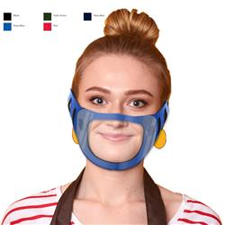 Face Masks with Clear Window Blank